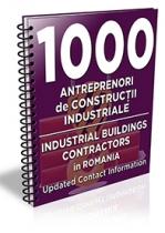 Lista cu principalii 1000 antreprenori de constructii industriale 2016