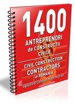 Lista cu principalii 1400 antreprenori de constructii civile 2017