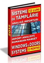 Analiza importurilor de sisteme pentru tamplarie - 12 luni 2012