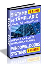 Analiza importurilor de sisteme pentru tamplarie - S1 2016
