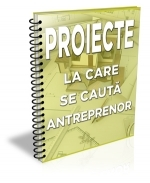 Lista cu 105 proiecte la care se cauta antreprenor (aprilie 2017)