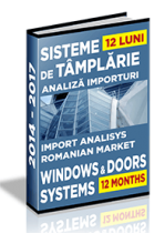 Analiza importurilor de sisteme pentru tamplarie si a exportului de ferestre - 2016