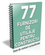 Lista cu principalii 70 de furnizori de utilaje pentru constructii