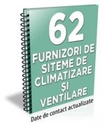 Lista cu principalii 62 furnizori de sisteme de climatizare si ventilare