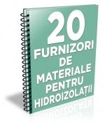Lista cu principalii 19 furnizori de materiale pentru hidroizolatii