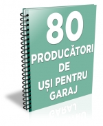 Lista cu principalii 80 producatori de usi pentru garaj