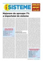 Analiza importurilor de sisteme pentru tamplarie - 9 luni 2011