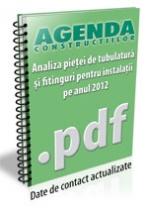 Analiza pietei de tubulatura si fitinguri pentru instalatii pe anul 2012