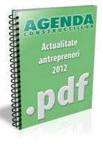 Actualitate antreprenori si firme de constructii - septembrie 2012
