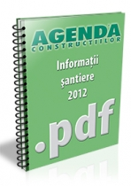 Informatii despre santiere, lucrari si investitii - aprilie 2012