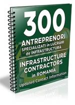 Lista cu principalii 300 antreprenori specializati in lucrari de infrastructura 2019