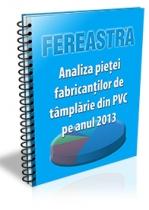 Analiza pietei fabricantilor de tamplarie din PVC pe anul 2013
