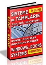 Analiza importuri sisteme de tamplarie si export de ferestre - 9 luni 2013