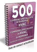 Lista cu principalele 500 companii specializate in domeniul HVAC 2018