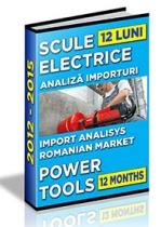 Analiza importurilor de scule electrice - 12 luni 2014