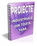 Lista cu 72 de proiecte industriale din toata tara (august 2015)