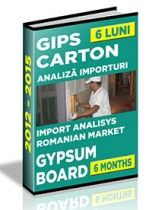 Analiza importurilor de placi si elemente din gips-carton - S1 2015