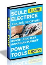 Analiza importurilor de scule electrice - S1 2015