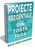 Lista cu 98 de proiecte rezidentiale din toata tara (decembrie 2016)