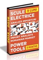 Analiza importurilor de scule electrice - 9 luni 2016