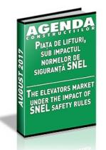 Analiza pietei de ascensoare si scari rulante pe anul 2017