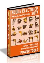 Analiza importurilor de scule electrice - 2017