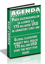 Analiza pietei de ascensoare si scari rulante pe anul 2018