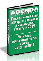 Analiza pietei de ciment, aditivi, betoane si agregate pe anul 2019