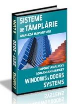 Analiza importurilor de sisteme pentru tamplarie si a exportului de ferestre - S1 2020