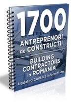 Lista cu principalii 1700 de antreprenori & firme de constructii 2019