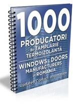 Lista cu principalii 1000 de producatori de tamplarie termoizolanta 2019