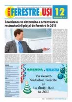 GRATUIT! Revista INFO-Ferestre & Usi - editia 12 (Decembrie 2010)