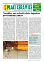 Analiza importurilor de placi ceramice si obiecte sanitare - 9 luni 2010
