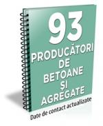 Lista cu principalii 92 de producatori de betoane si agregate