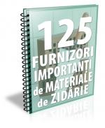 Lista cu principalii 120 de producatori de materiale pentru zidarie si structuri