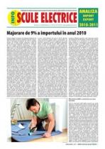 Analiza importurilor de scule electrice - 12 luni 2010