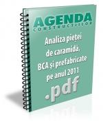 Analiza pietei de caramida, BCA si prefabricate din beton pe anul 2011