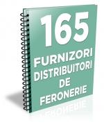 Lista cu principalii 165 furnizori de sisteme de feronerie