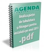 Analiza pietei de tubulatura si fitinguri pentru instalatii pe anul 2011