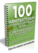 Lista cu principalii 113 arhitecti-sefi din orasele importante ale tarii 2016